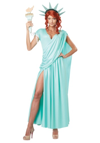 Women's Lady Liberty Costume