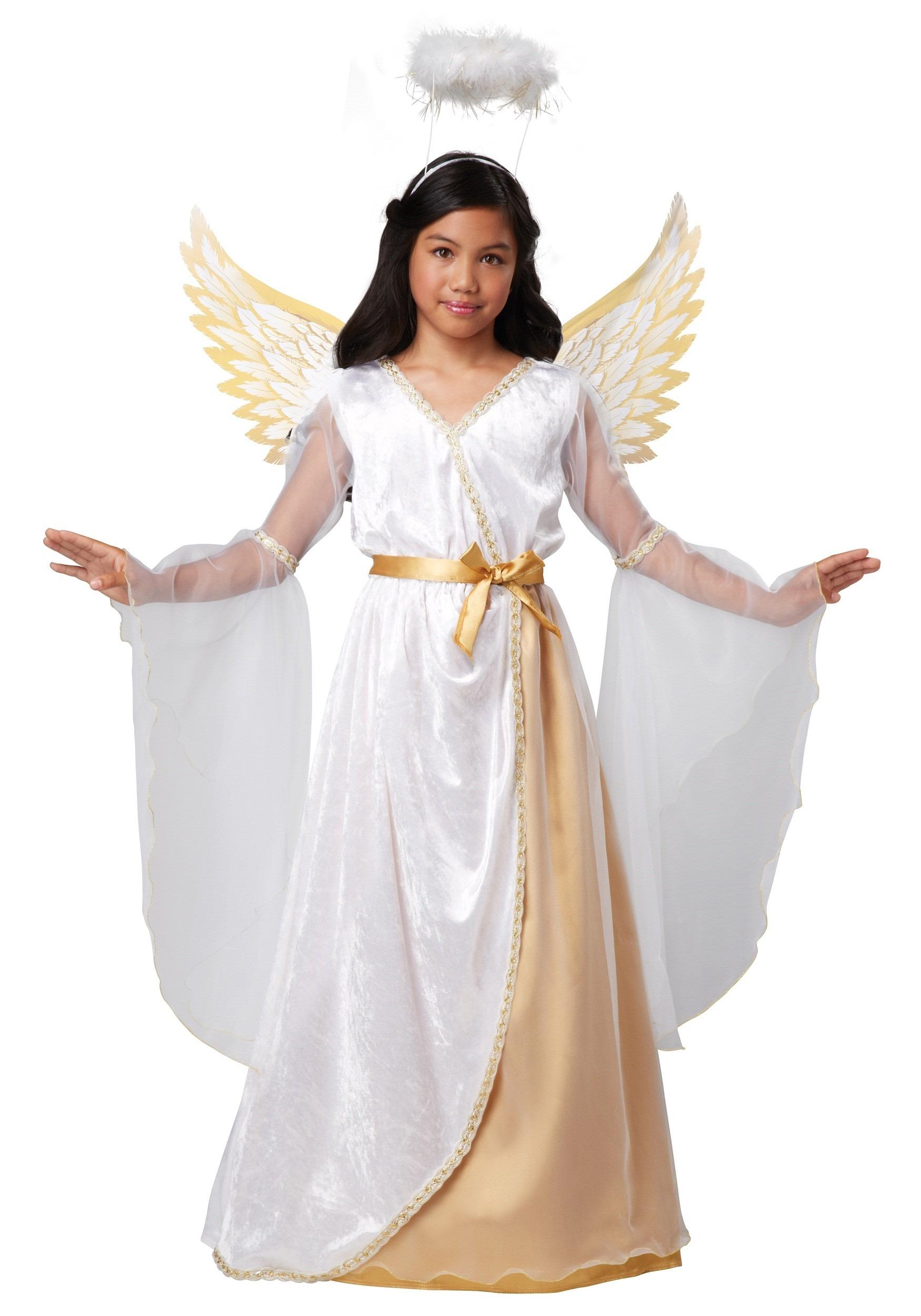 Guardian Angel Girls Costume