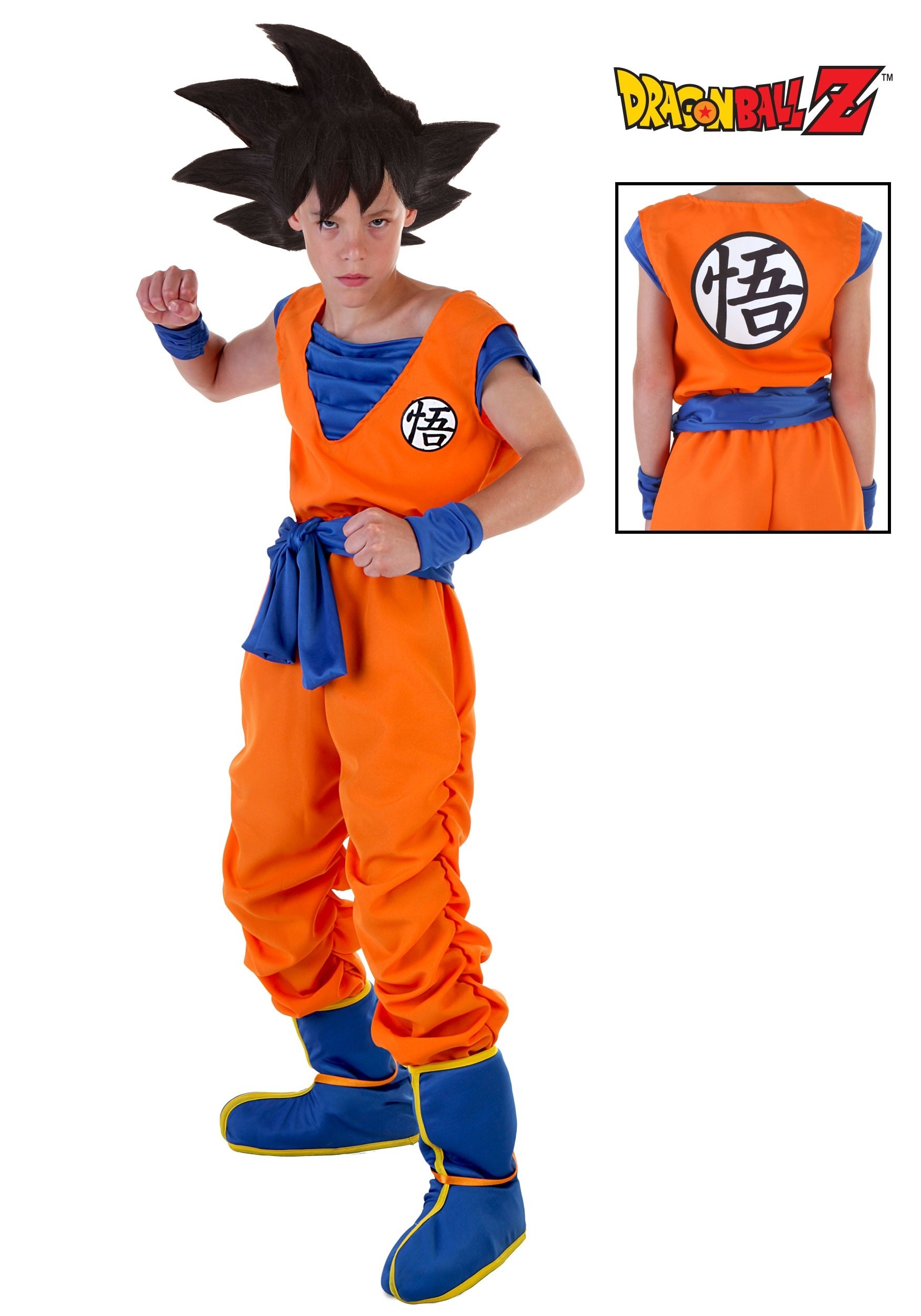 DBZ Child Goku Costume 1c2edca5c0c2