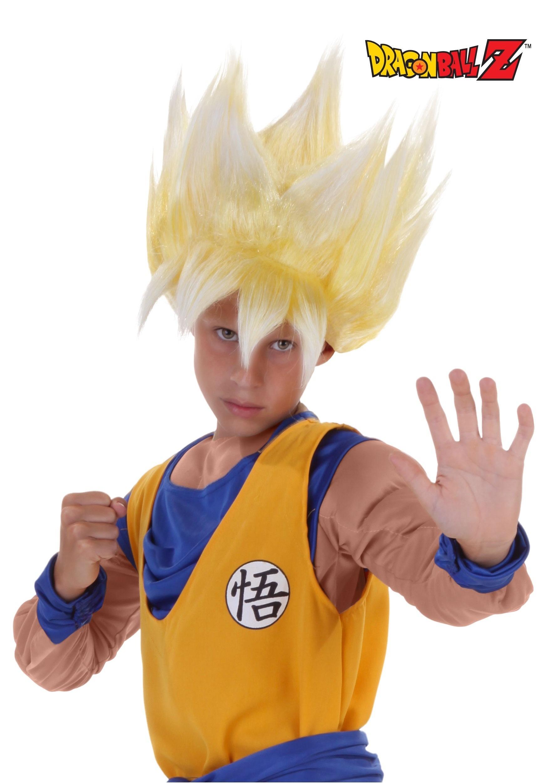 sc 1 st  Fun.com & Child Super Saiyan Goku Wig
