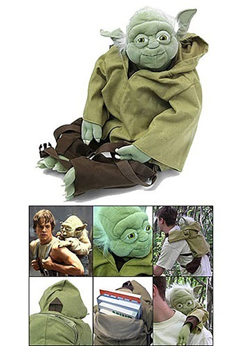 Star Wars Stuffed Yoda Backpack CO69155
