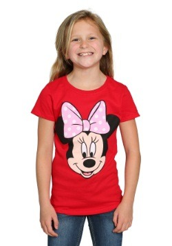 Infant Minnie Mouse Face T-Shirt