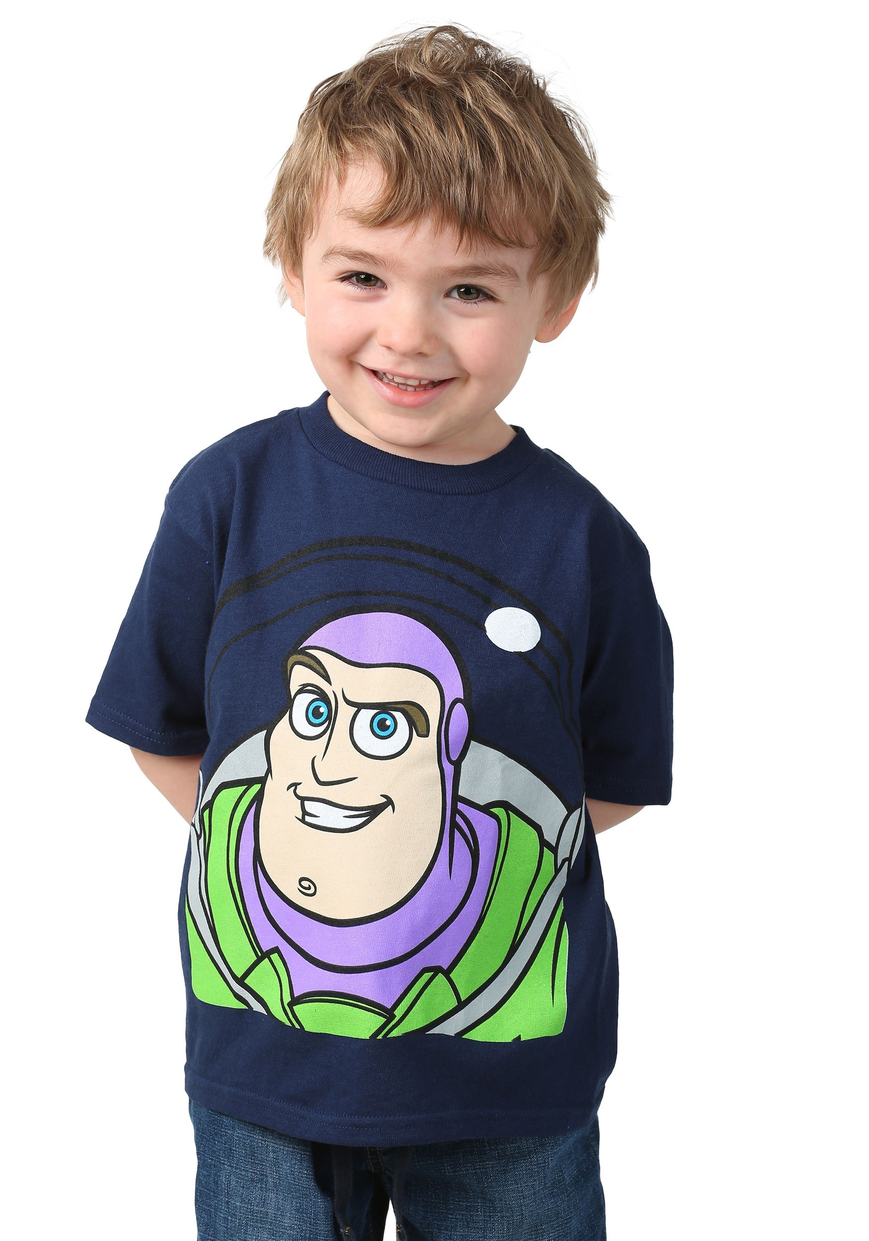 Toddler Toy Story Buzz Lightyear Face T-Shirt FZOYSB070