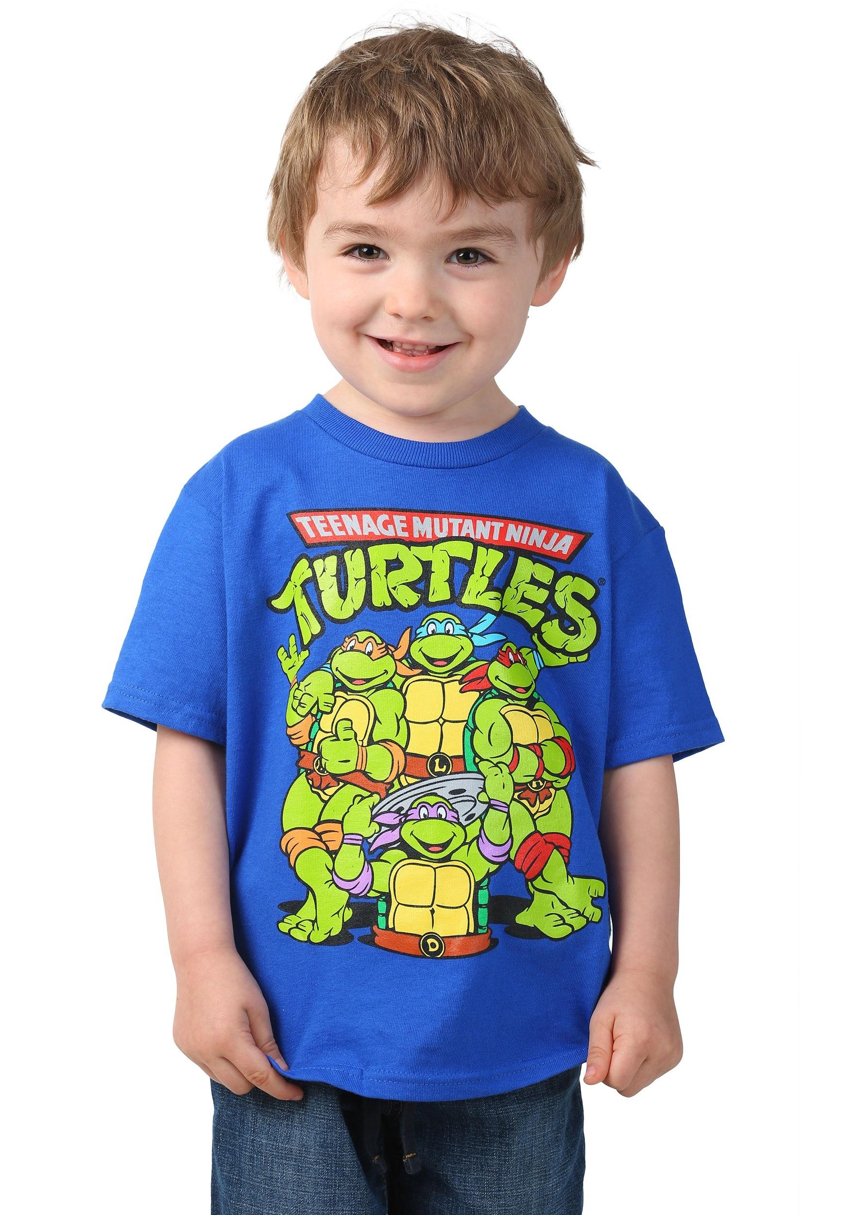 Toddler TMNT Group Royal T-Shirt