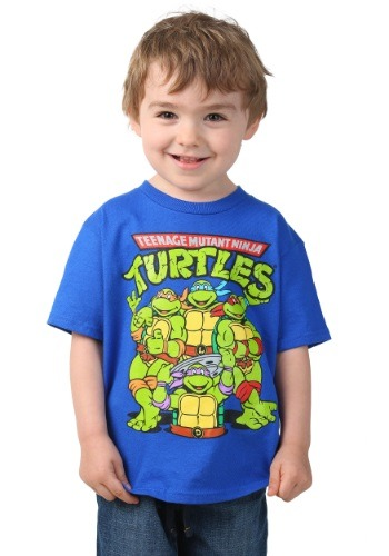 Toddler TMNT Group Royal T-Shirt