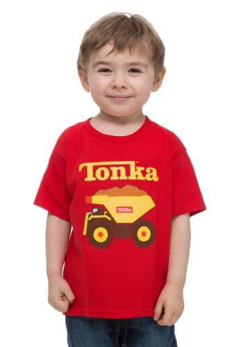 Toddler Tonka Truck Red T-Shirt