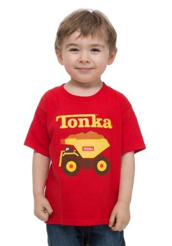 Toddler Tonka Truck Red T-Shirt FZKOSB001TD-2T