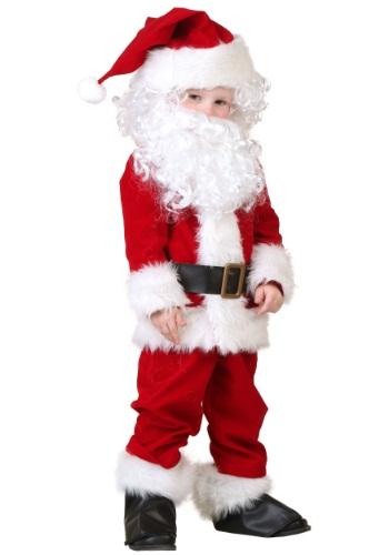 Deluxe Santa Toddler Costume
