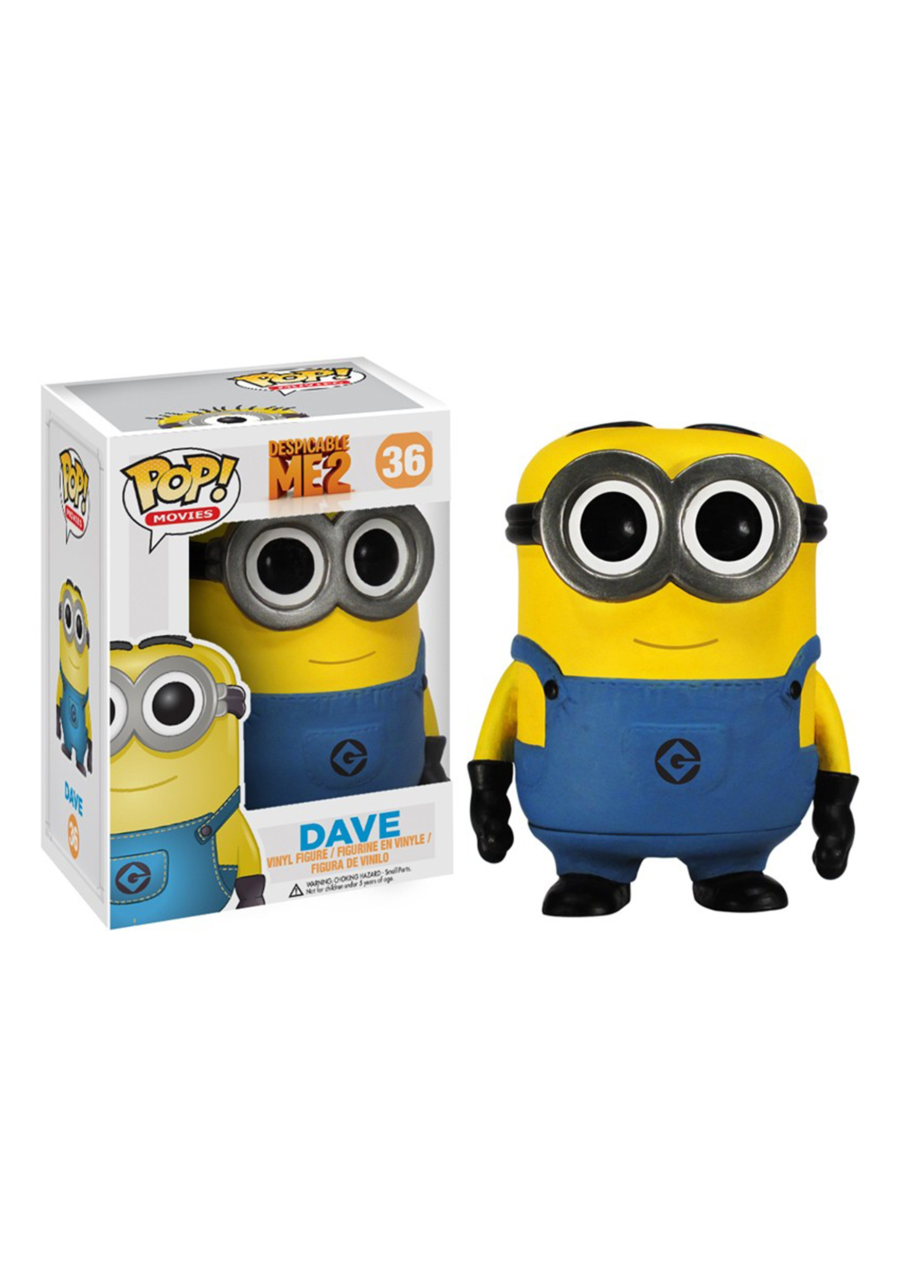 POP Despicable Me Dave Vinyl Figure FN3371