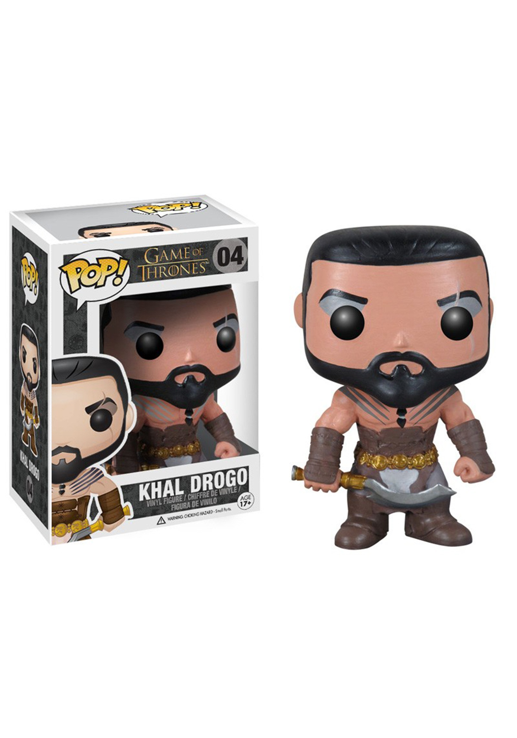 POP Game of Thrones Khal Drogo Vinyl Figure FN3013
