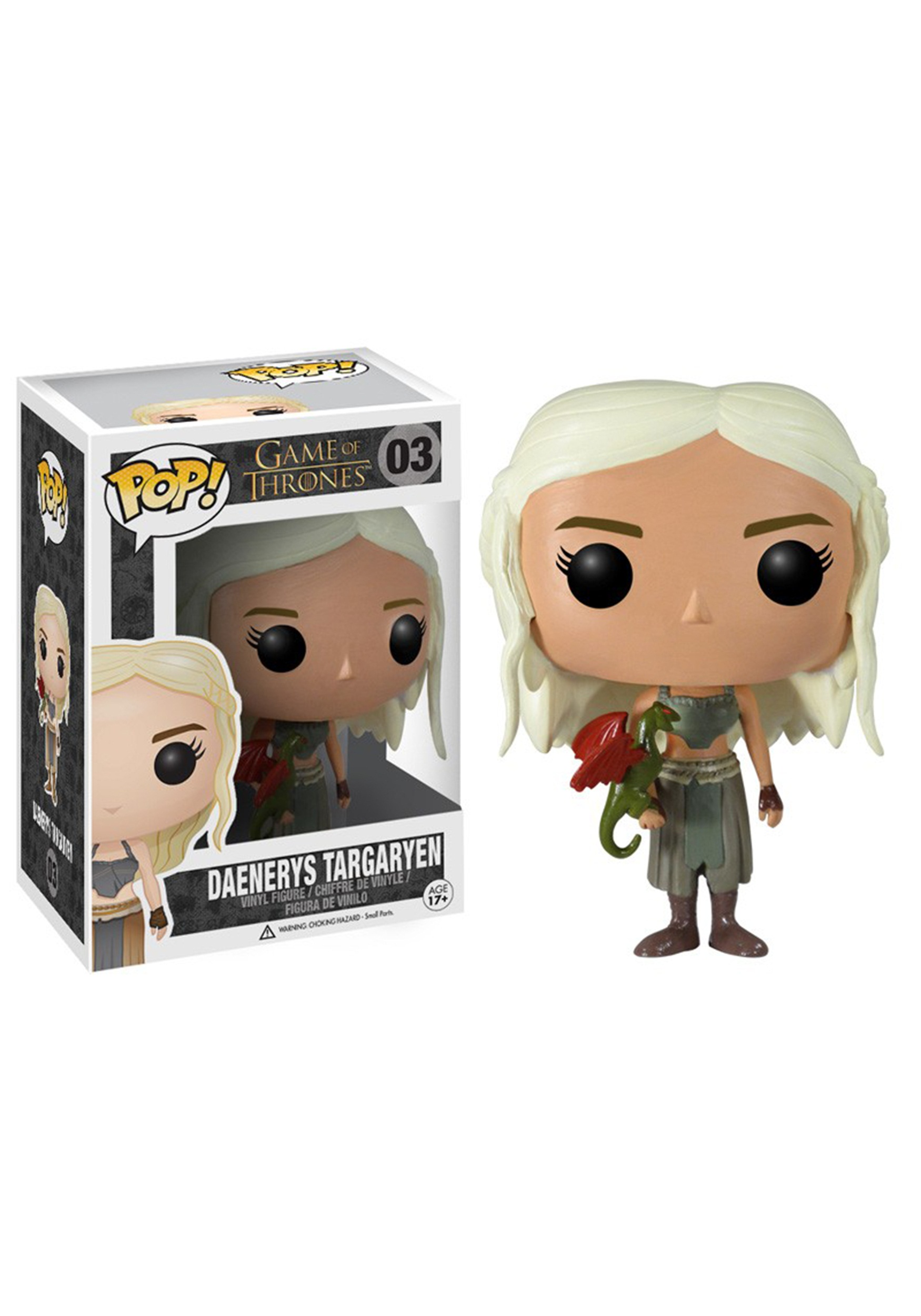 POP Game of Thrones Daenerys Targaryen Vinyl Figure FN3012