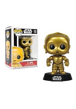 POP Star Wars - C-3PO Bobble Head Upd