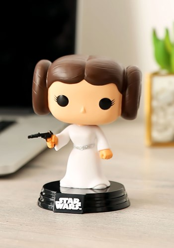 POP Star Wars Princess Leia Bobblehead FN2319