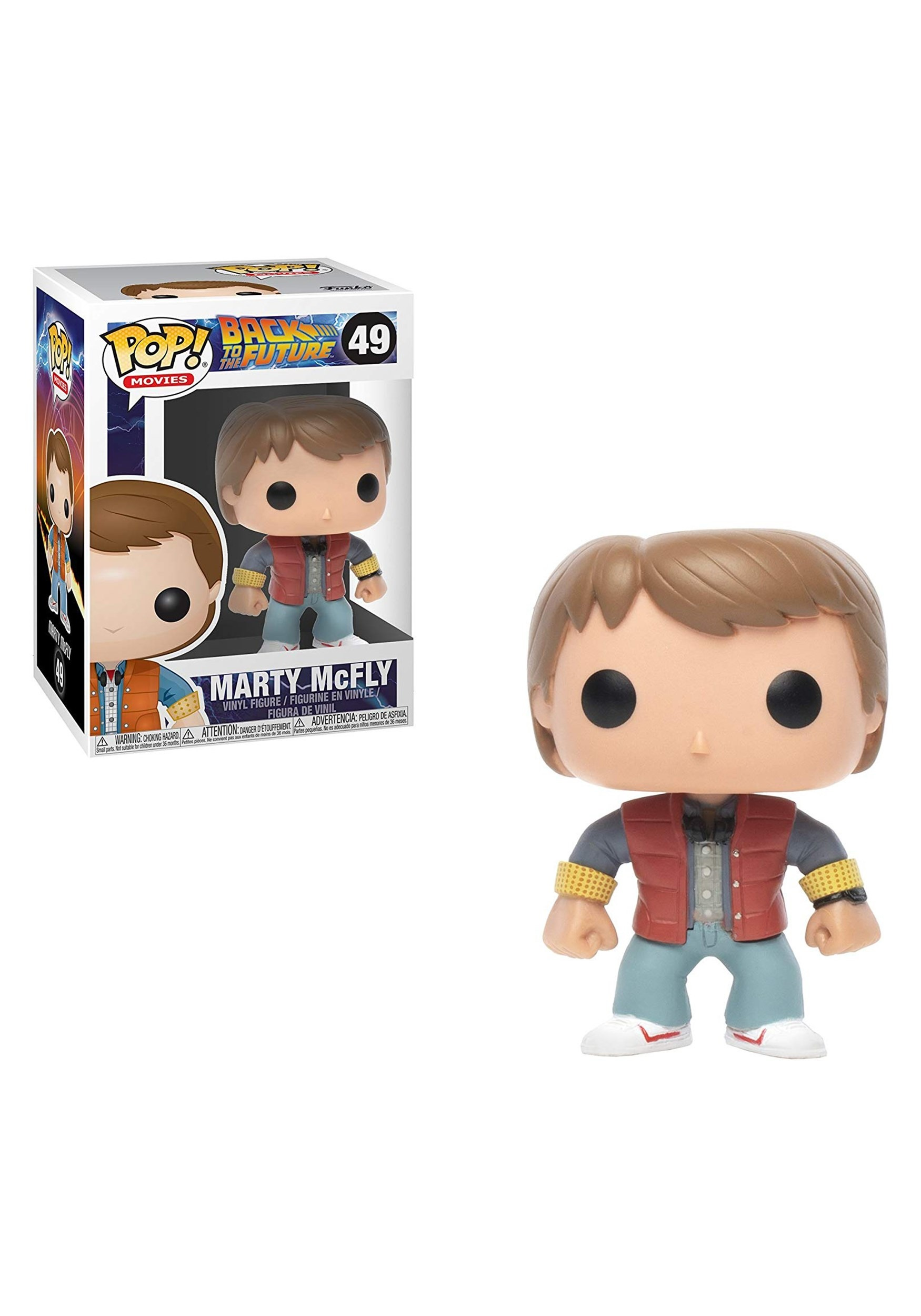 POP Back to the Future Marty Vinyl Figure FN3400