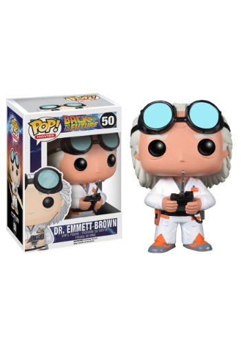 POP Back to the Future Doc Vinyl Figure