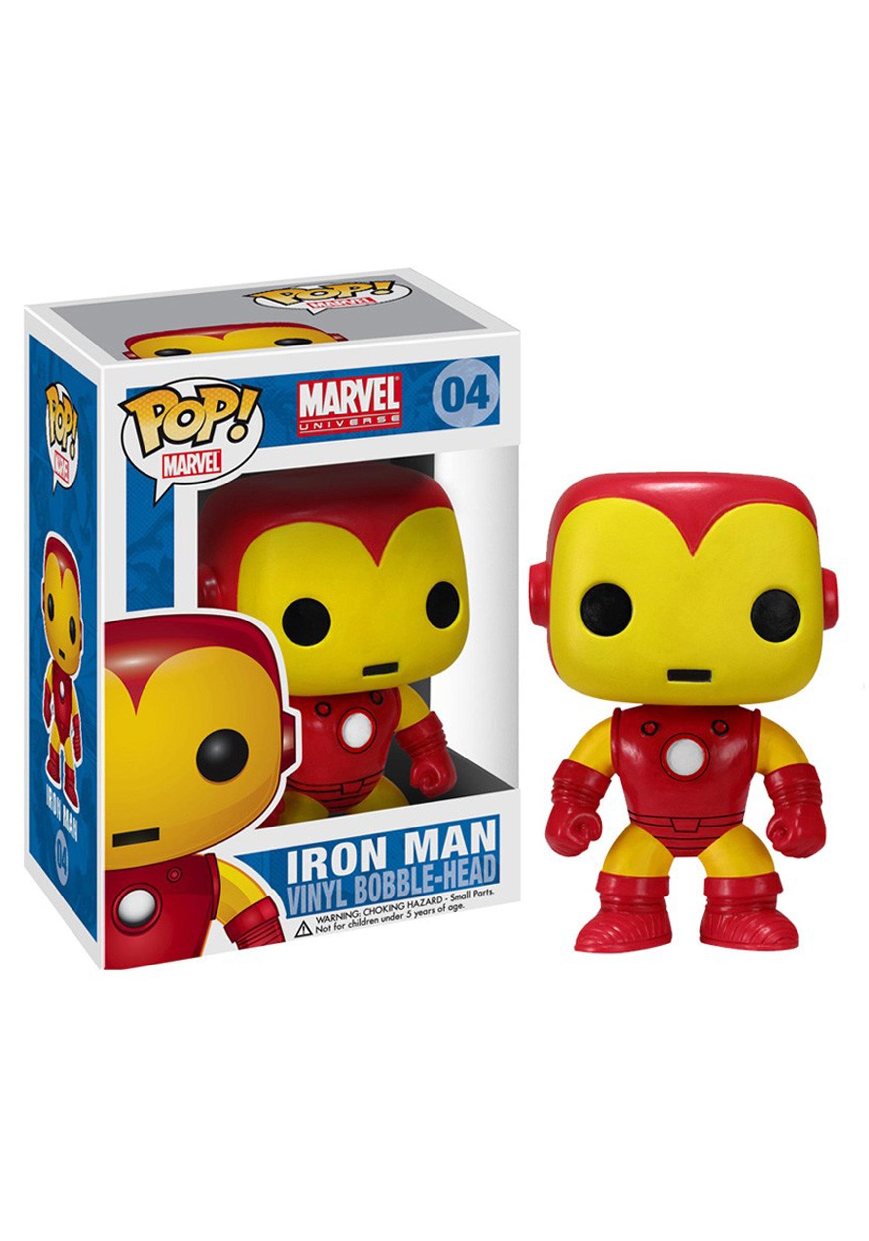 Pop Marvel Iron Man Bobble Head