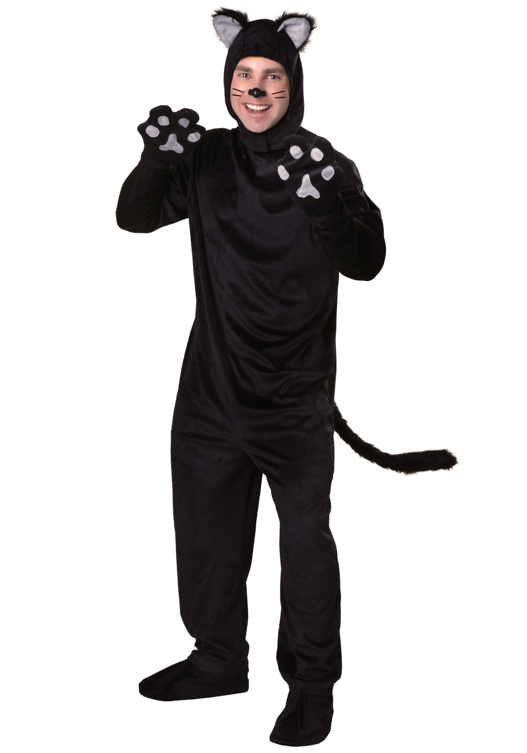 Plus Size Adult  Black Cat Costume
