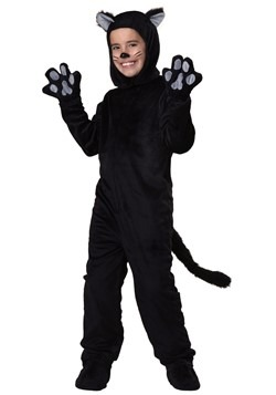 Black Cat Kids Costume