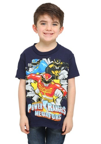 Boys Power Rangers Mega Force T-Shirt