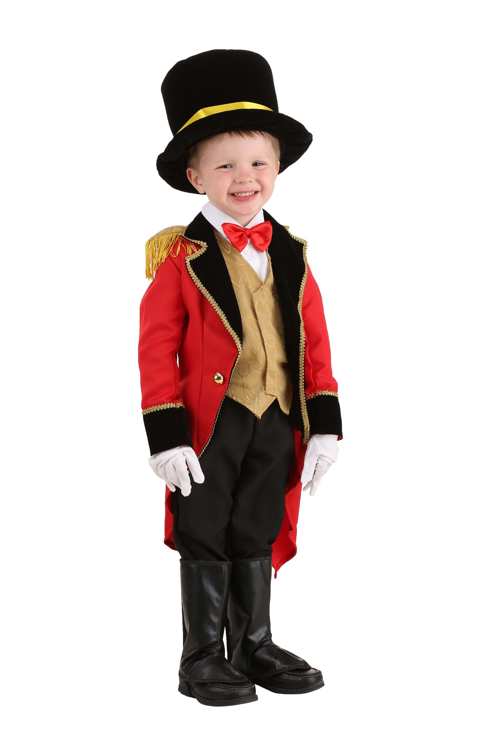 Ringmaster Toddler Costume Exclusive Made By Us