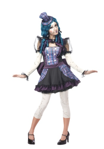 Adults Broken Doll Costume
