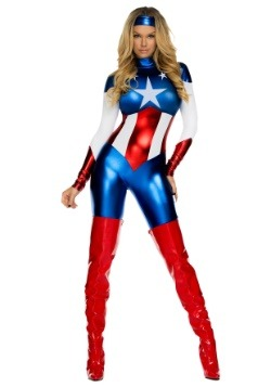 American Beauty Superhero Womens Costume