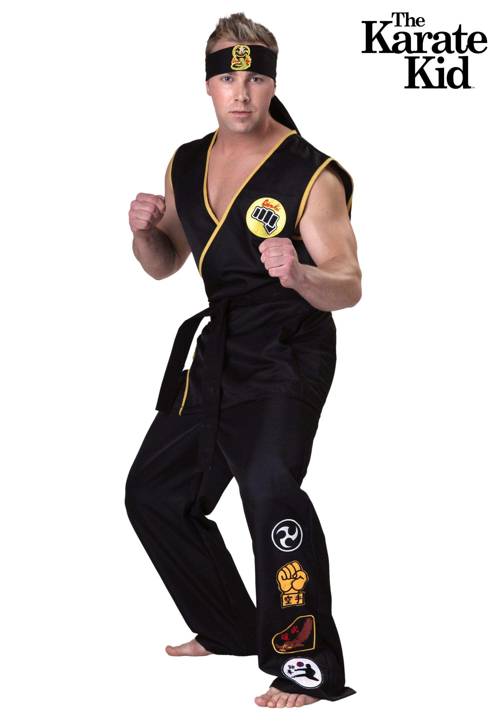 karate kid cobra kai adult costume