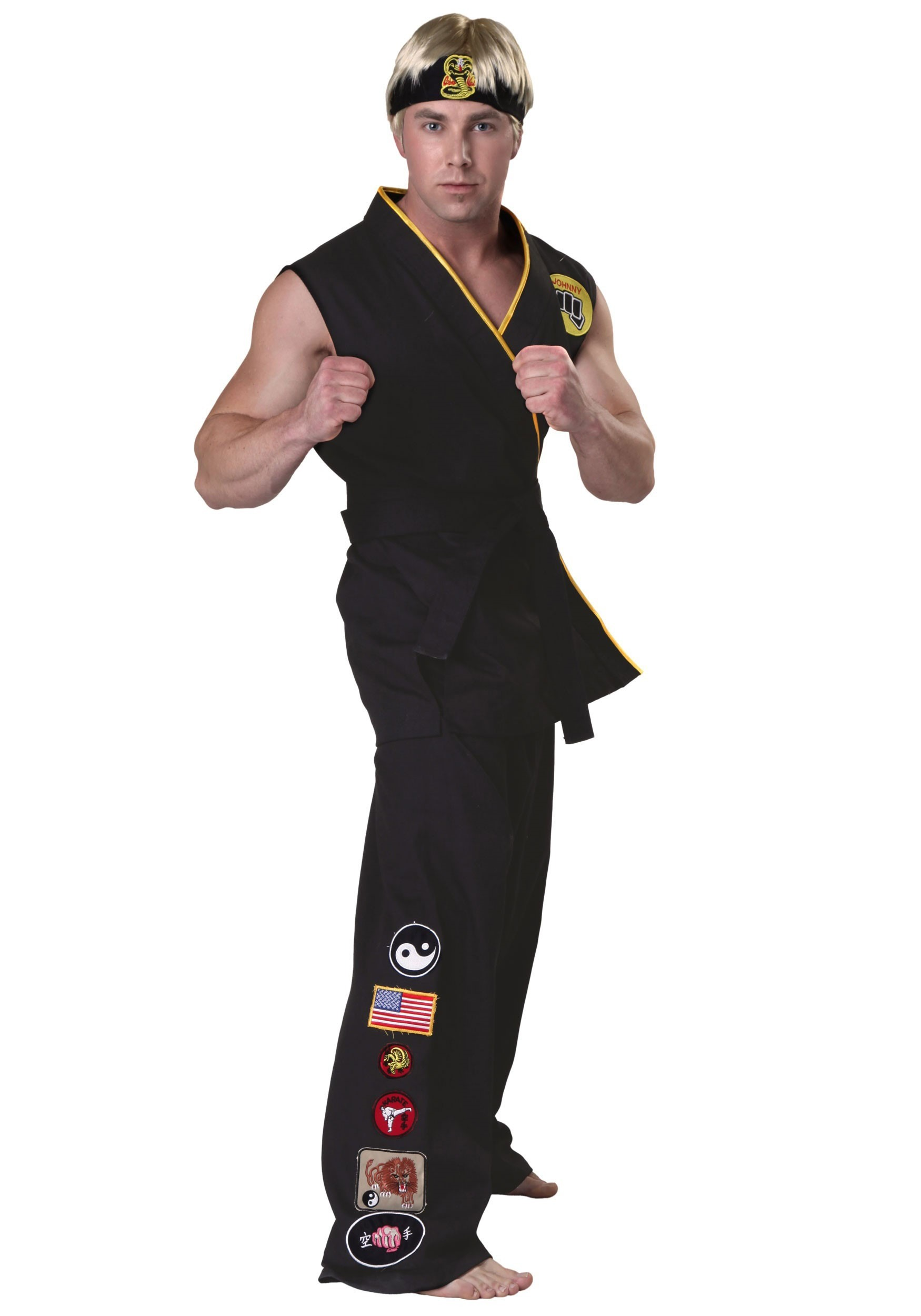 Authentic Karate Kid Cobra Kai Costume KAR2231AD
