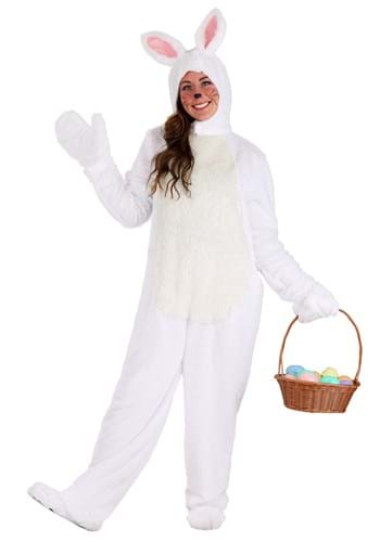White Bunny Costume for Adults update