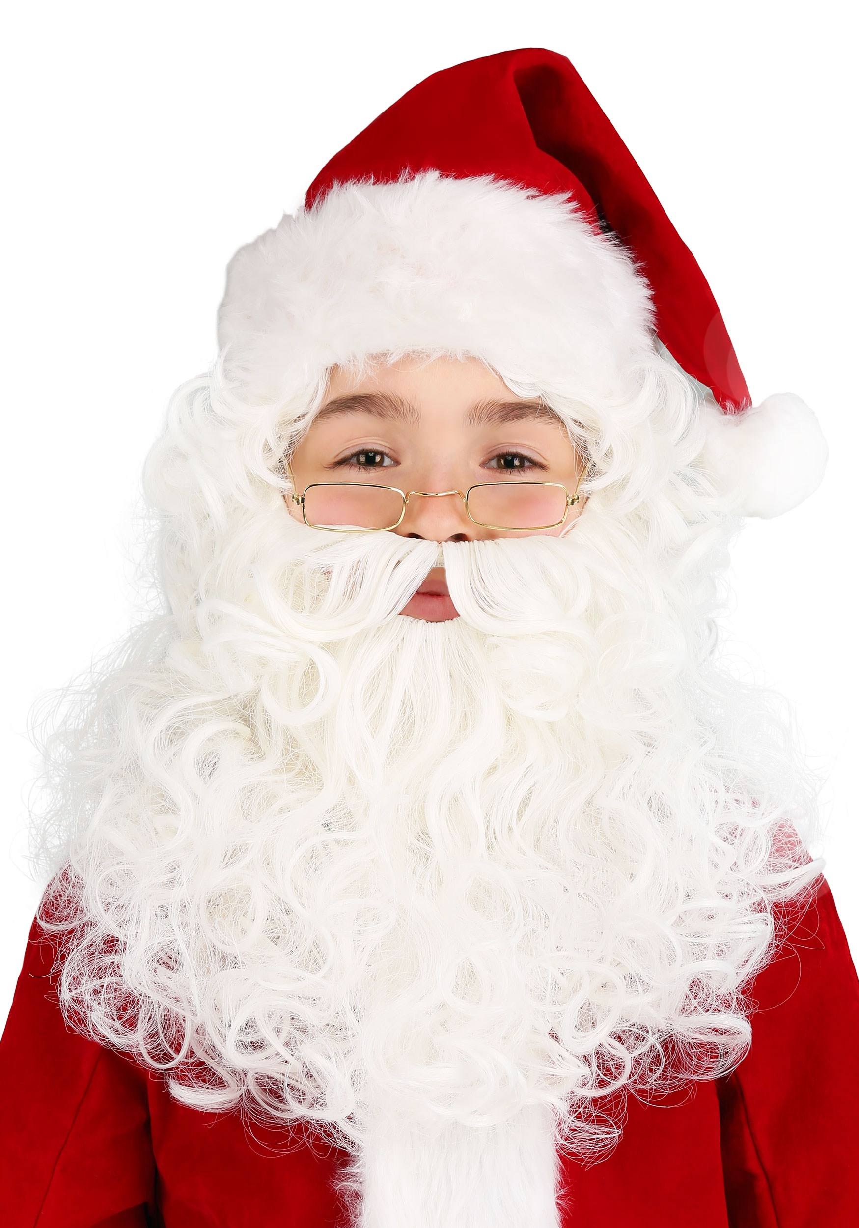 69d7482a182 CHILD SANTA WIG AND BEARD