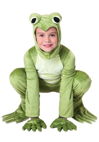 Deluxe Frog Kid's Costume 1