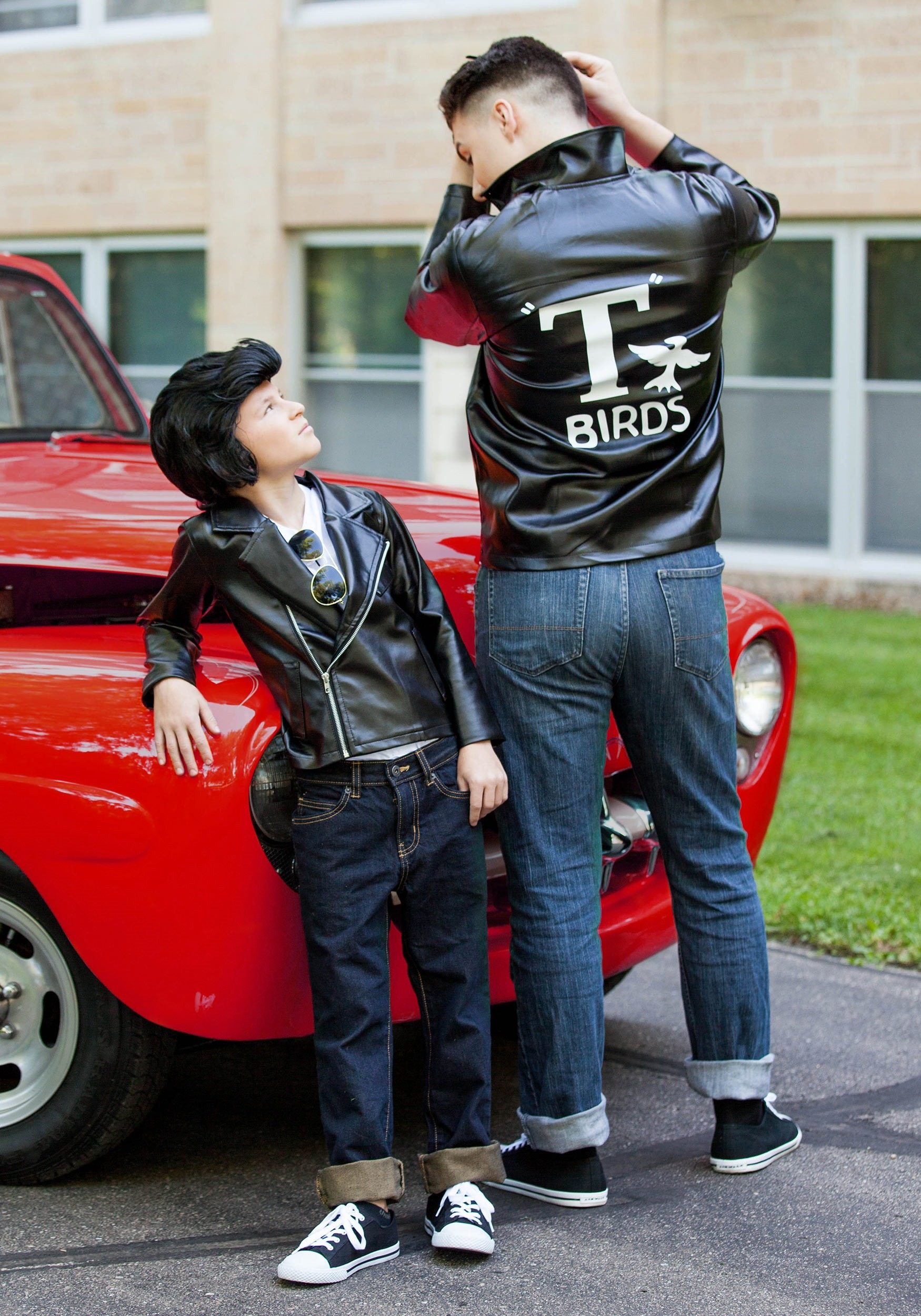 Kids Grease T Birds Jacket Costume