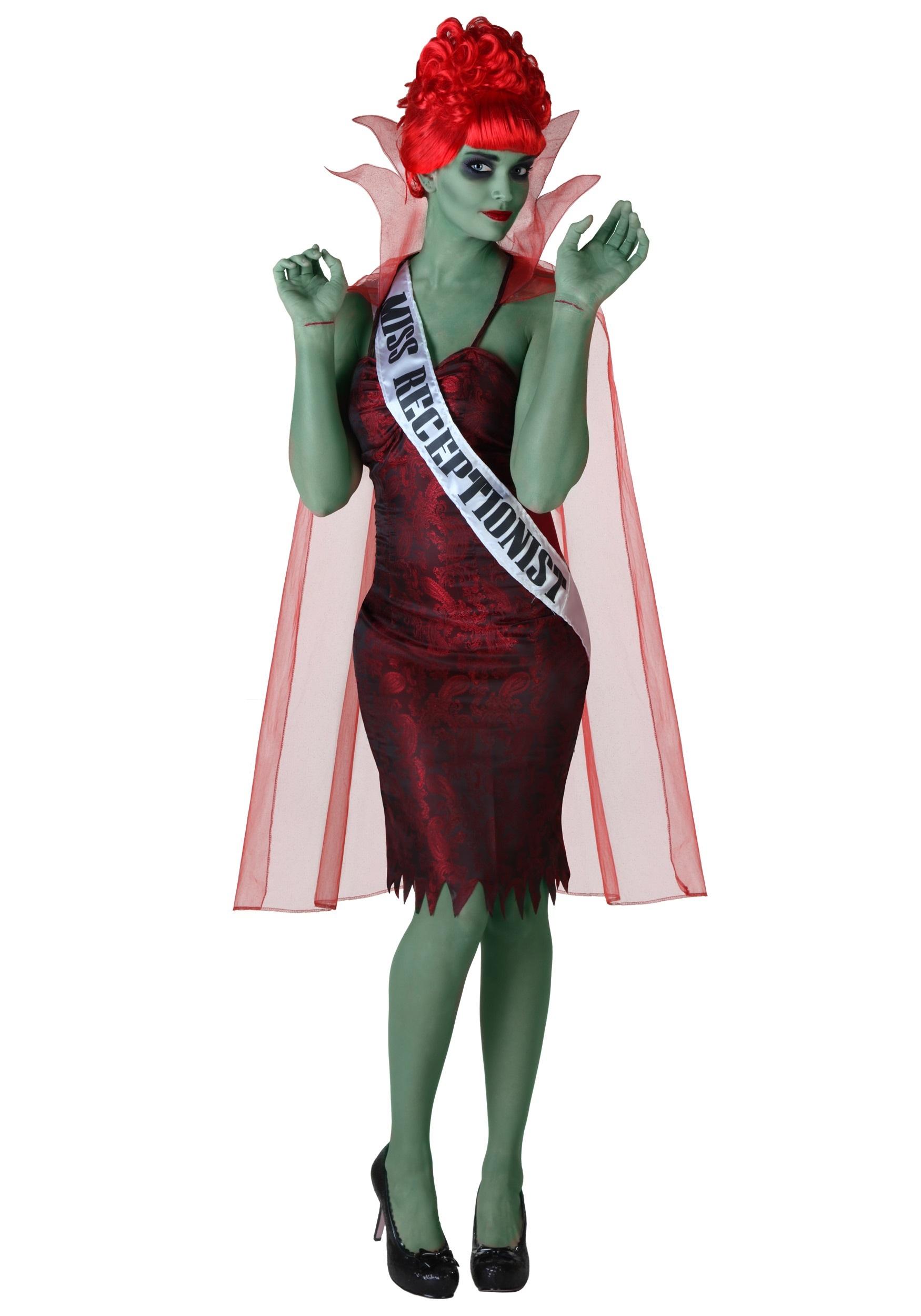 sc 1 st  Fun.com & Plus Size Miss Dead Receptionist Costume