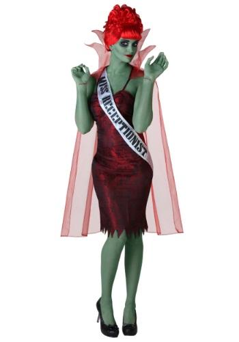 Plus Size Miss Dead Receptionist Costume