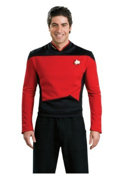 Star Trek: TNG Adult Deluxe Commander Uniform Costume
