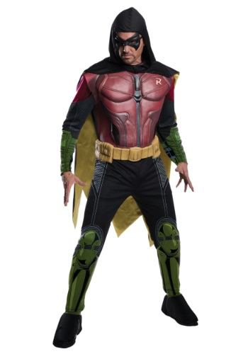 Men's Robin Arkham Origins Costume