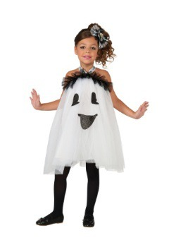 Kids Ghost Tutu Dress