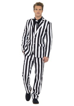 Humbug Striped Mens Suit