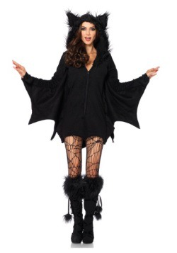 Women's Cozy Bat Costume