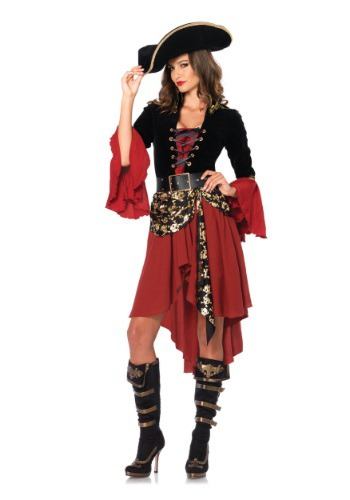 Women's Cruel Seas Captain Costume