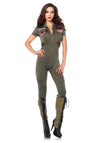 Top Gun Women's Jumpsuit Costume