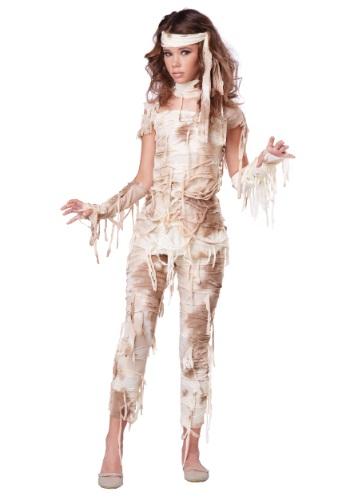 Teen Girls Mysterious Mummy Costume