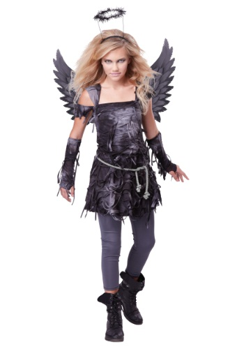 Teen Spooky Angel Girls Costume