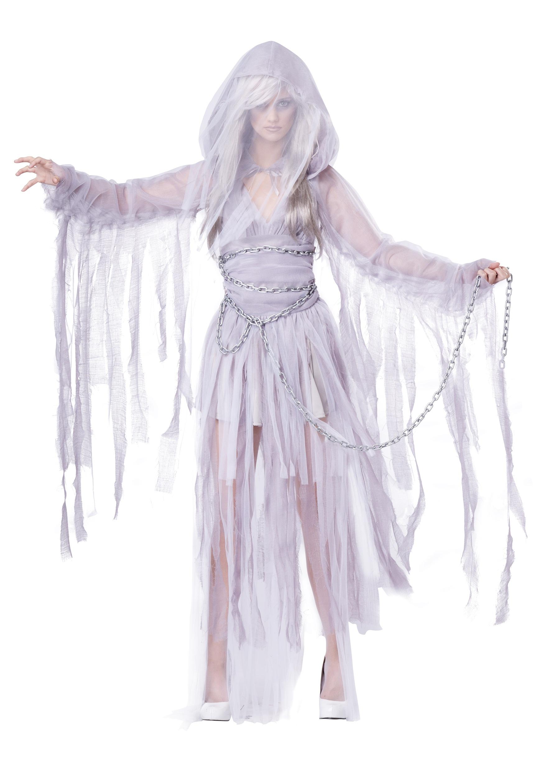 Spirit Of Christmas Past Costume.Haunting Beauty Costume For Women