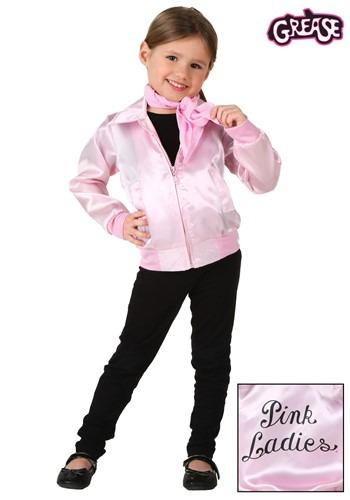 Toddler Grease Pink Ladies Jacket