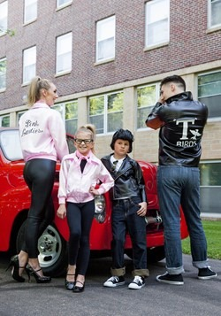 Plus Size Pink Ladies Jacket Alt 2