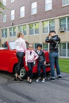 Child Pink Ladies Jacket Alt 1
