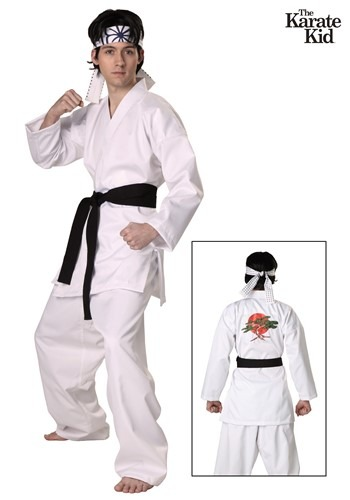 Karate Kid San Daniel Authentic Adult Costume