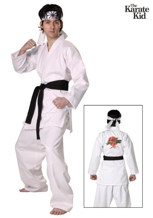 Karate Kid San Daniel Authentic Adult Costume