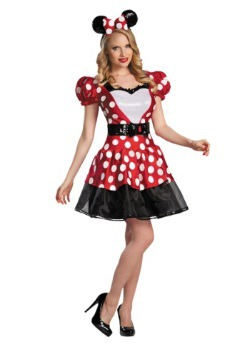 Red Glam Minnie Costume